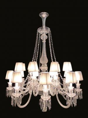 Lustre Cristal K9 18 lâmpadas