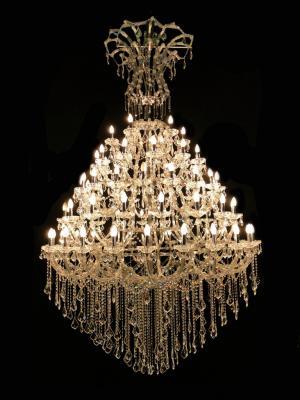 Lustre Cristal K9 78 lâmpadas