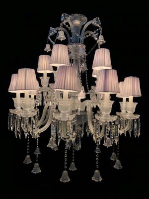 Lustre Cristal K9 15 lâmpadas